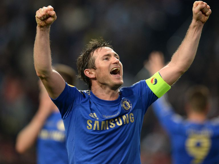 Frank Lampard: Extends his Chelsea stay