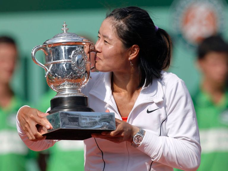Li Na: Champion at Roland Garros in 2011