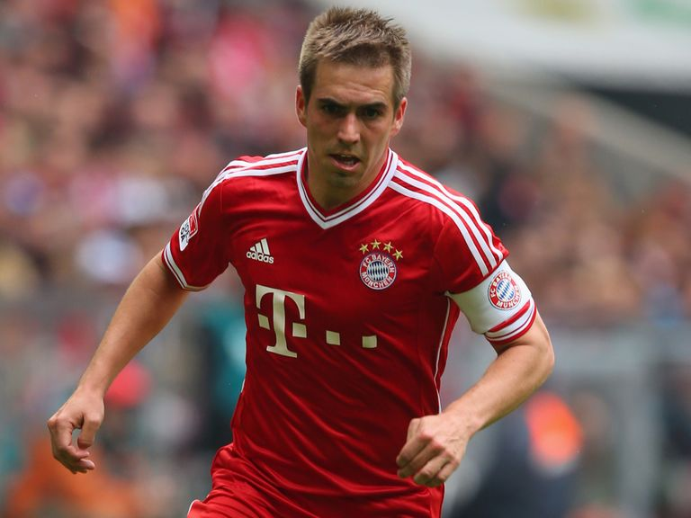 Philipp Lahm: Has spoken out against Bayern's director of sport