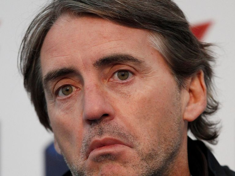 Roberto Mancini: Set for the sack at Man City?