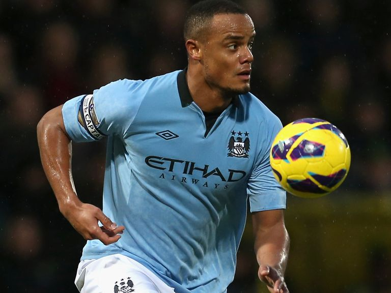 Vincent Kompany: Featured against Chelsea