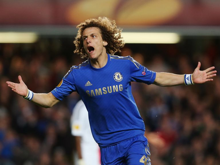 David Luiz: Can strike for Chelsea