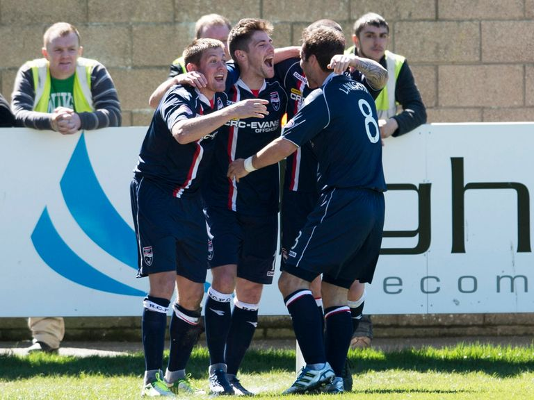 Iain Vigurs: Prepares for Highland derby