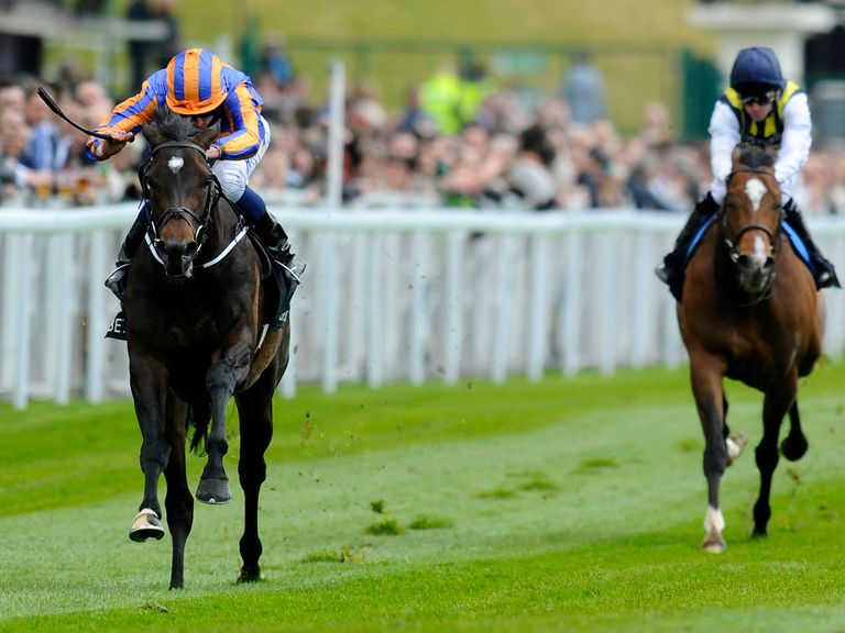 Magician (left): Gets the vote in the Irish 2000 Guineas
