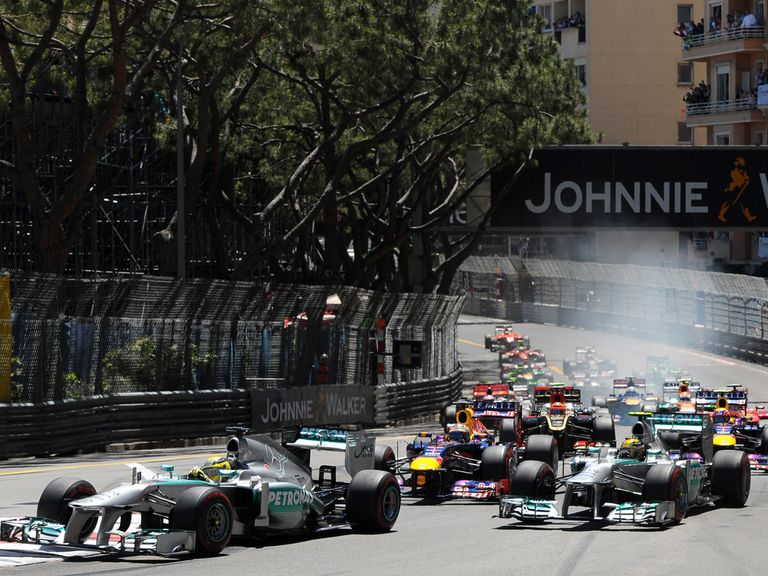 They'll race in Monaco again on May 25 2014