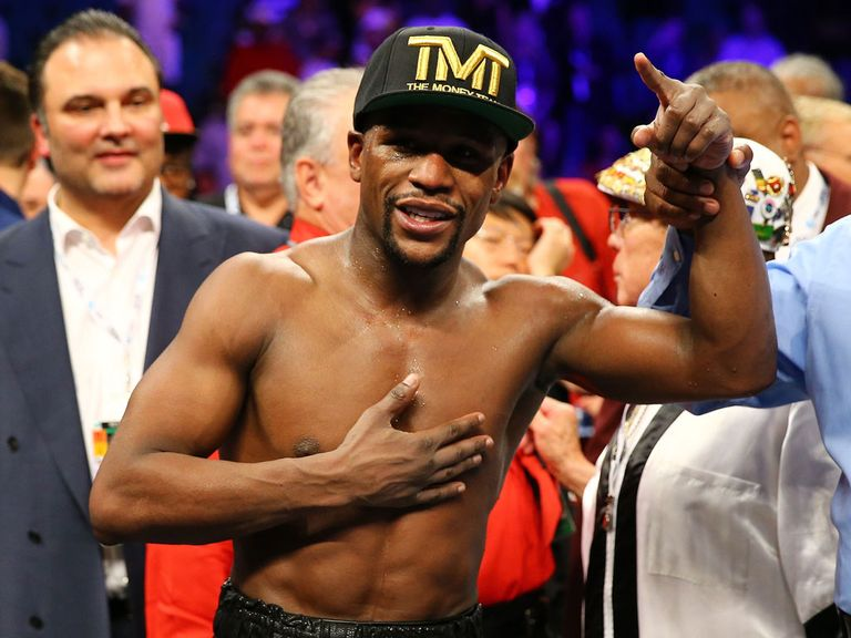 Floyd Mayweather: No trash talking in the build up