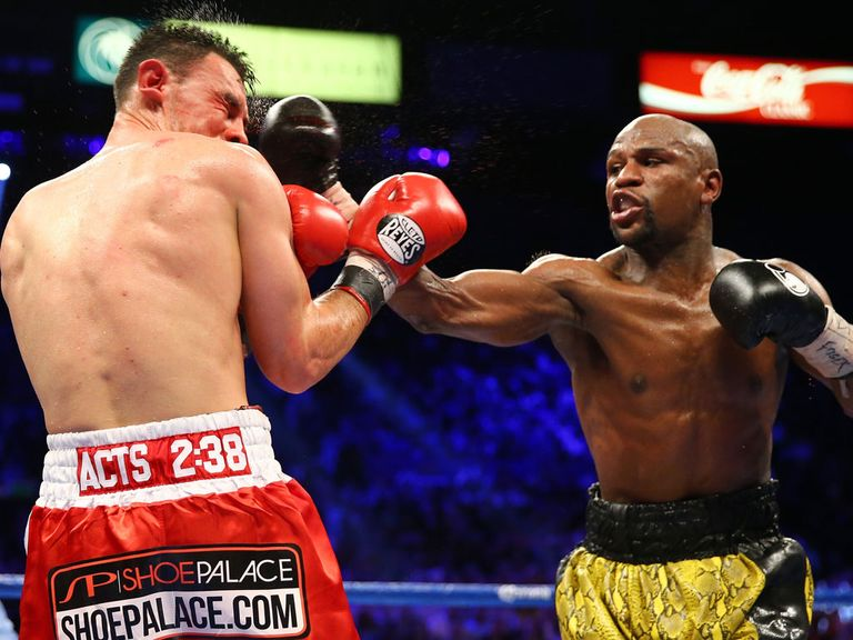 Floyd Mayweather: Set to face Saul Alvarez