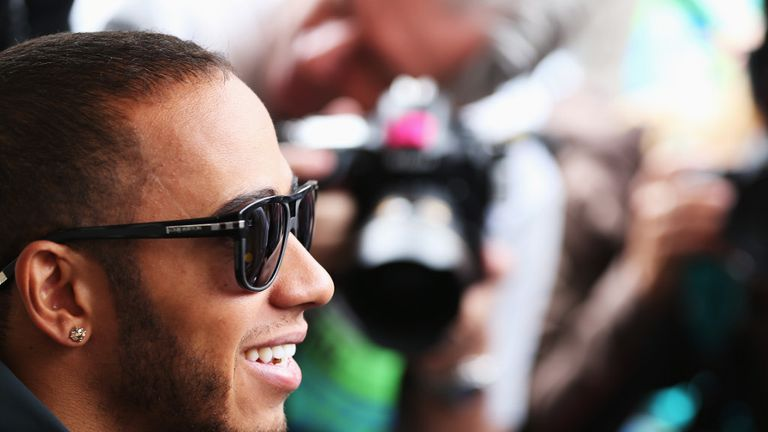 Hamilton: Still getting to grips with the W04