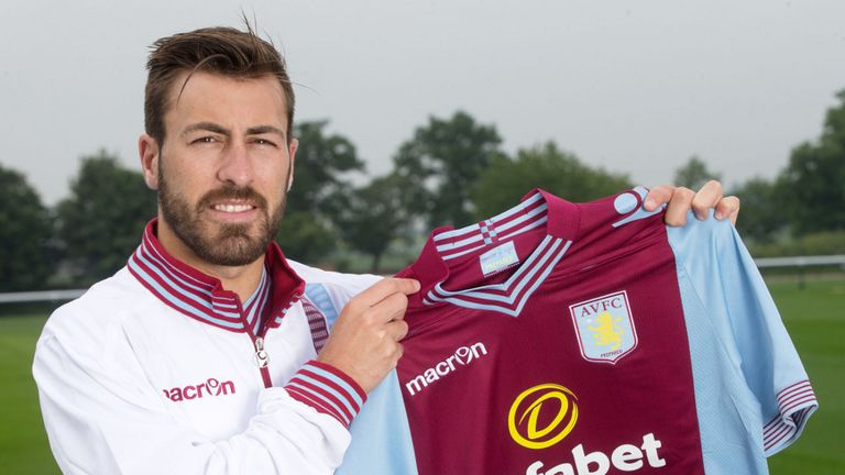 Antonio Luna: Looking forward to starting his Aston Villa career