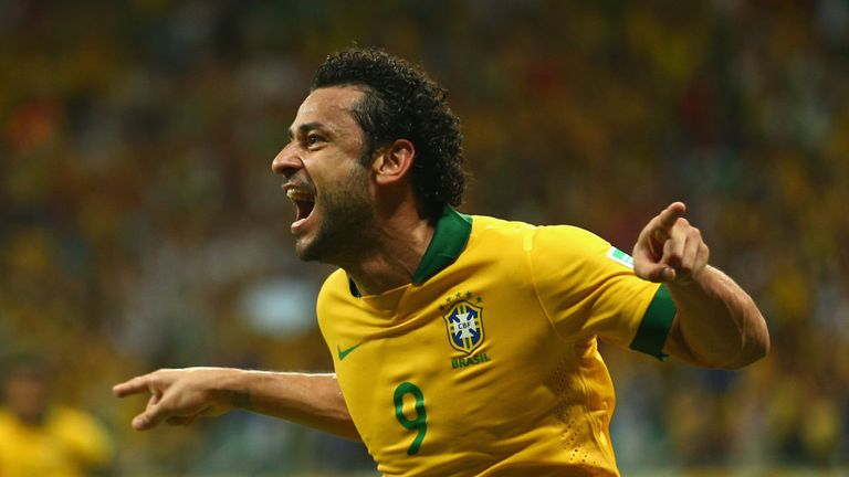 Fred: Brazil striker set to lead the line for his country this summer