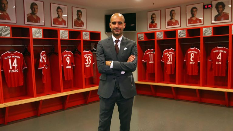 Pep Guardiola: Denies making comments towards Barca coach Vilanova