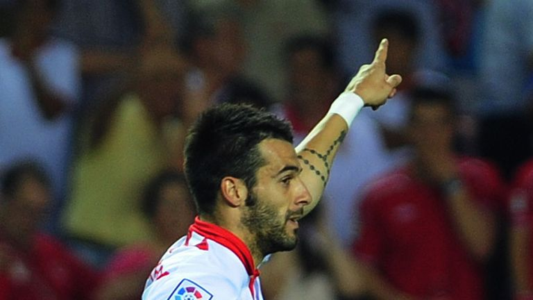 Alvaro Negredo: Odds-on to join Manchester City this summer
