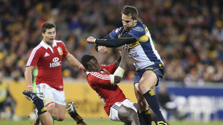 Andrew Smith: Joins Sam Carter and Fotu Auelua in re-committing to the Brumbies