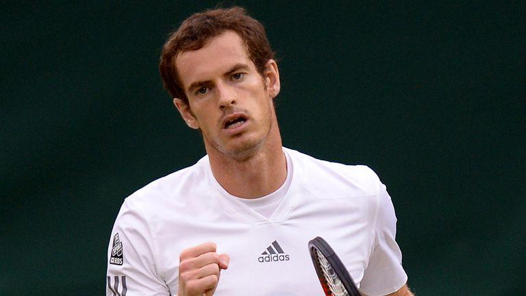 Andy Murray: Making superb progress at Wimbledon