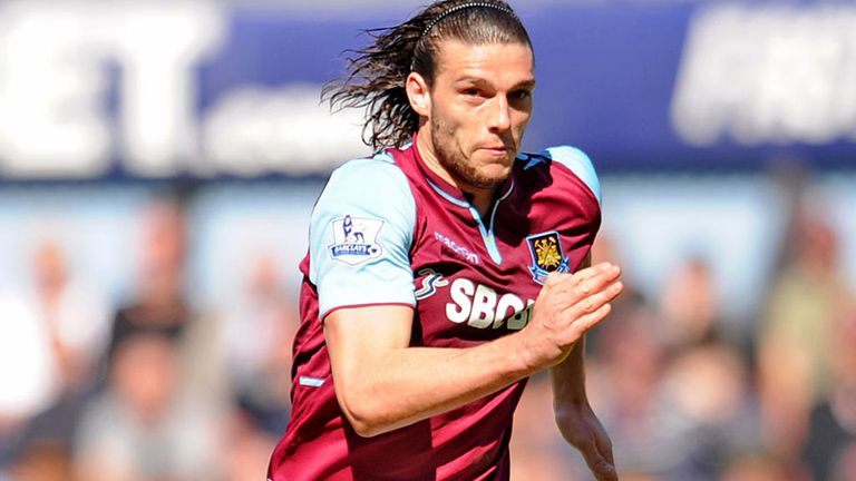Andy Carroll: Signed six-year West Ham contract