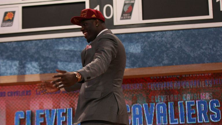 Anthony Bennett: Has been picked by the Cleveland Cavaliers