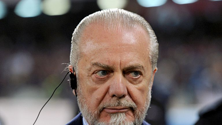 Aurelio De Laurentiis: Reportedly eyeing a move for Orient