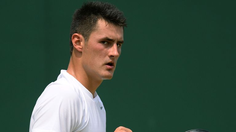 Bernard Tomic: Australian into third round at Wimbledon