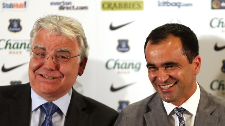 Roberto Martinez: Will be looking to bring fresh faces into the Everton squad he has inherited