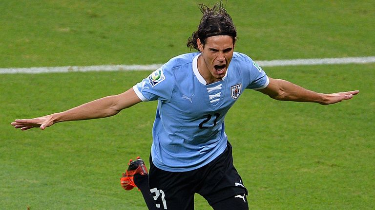 Edinson Cavani: The Uruguay international's future remains up in the air this summer