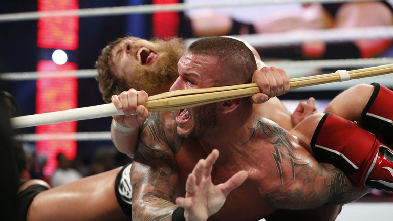 Bryan and Orton: squared off at Night of Champions