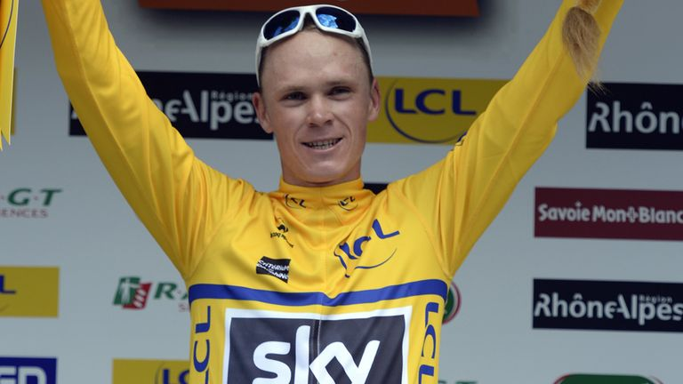 Froome: Has enjoyed a stellar start to the 2013 season