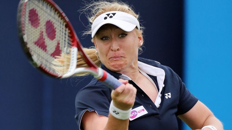 Elena Baltacha: Lost to world No 10 Maria Kirilenko