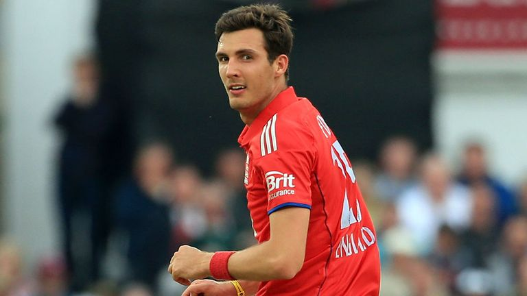 Finn has stepped into the England squad to replace Bresnan