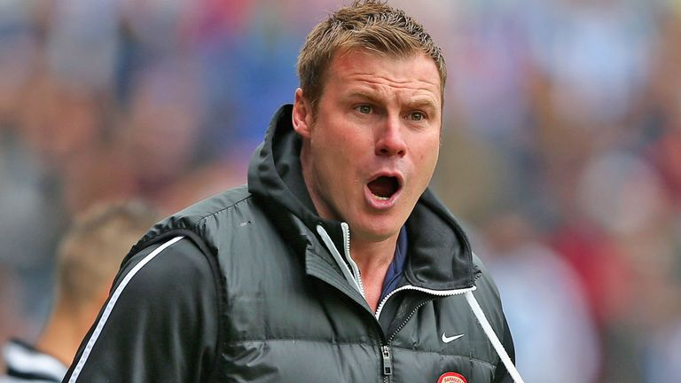 David Flitcroft: Takes charge at Bury