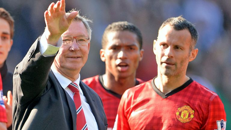Sir Alex Ferguson: Feels Ryan Giggs should take over as Manchester United manager
