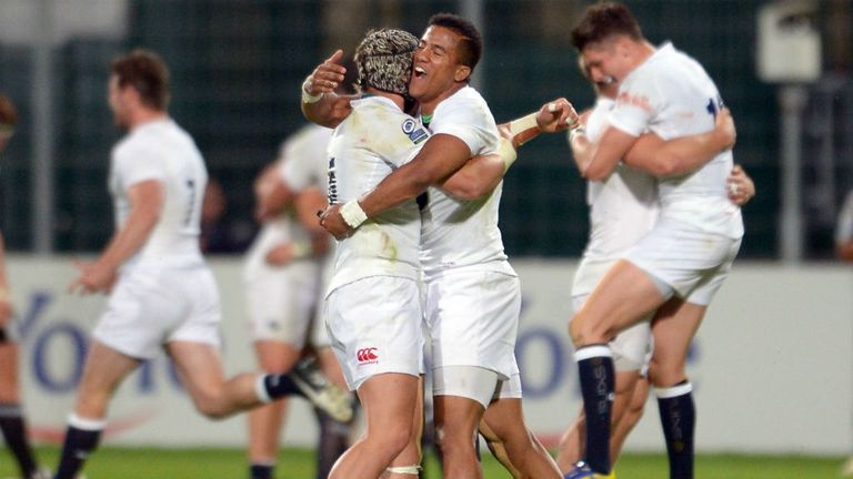 England U20s are hoping for more celebrations after Sunday's IRB World Junior Championship Final with Wales