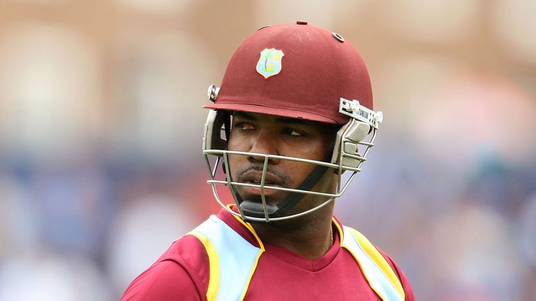 Darren Bravo after his dismissal for 35