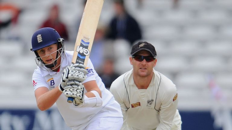 Joe Root: Following in Andrew Strauss' footsteps