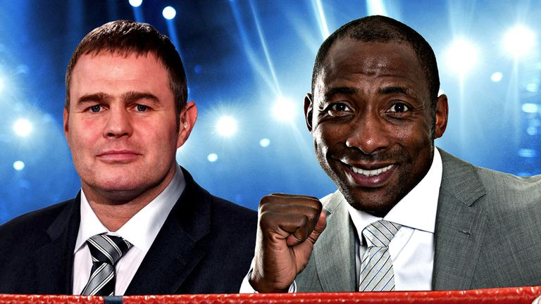 Tipping challenge: The Sky Sports Boxing duo will compete to raise money for the charity of their choice