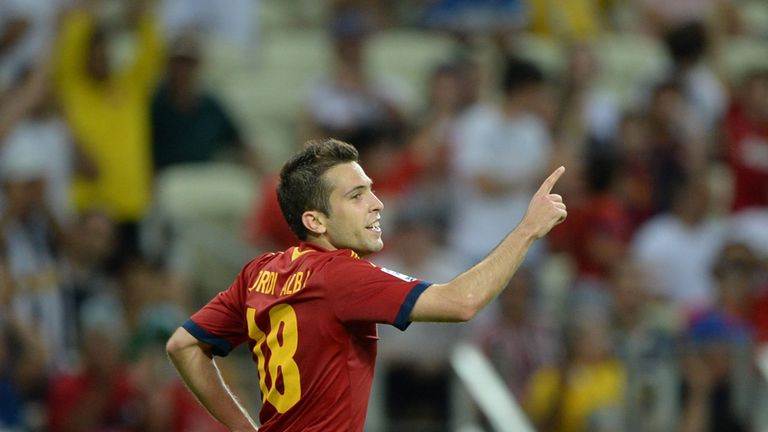 Jordi Alba: At the double against Nigeria