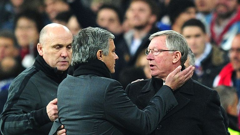 Jose Mourinho: Says Sir Alex Ferguson is not to blame for United struggles