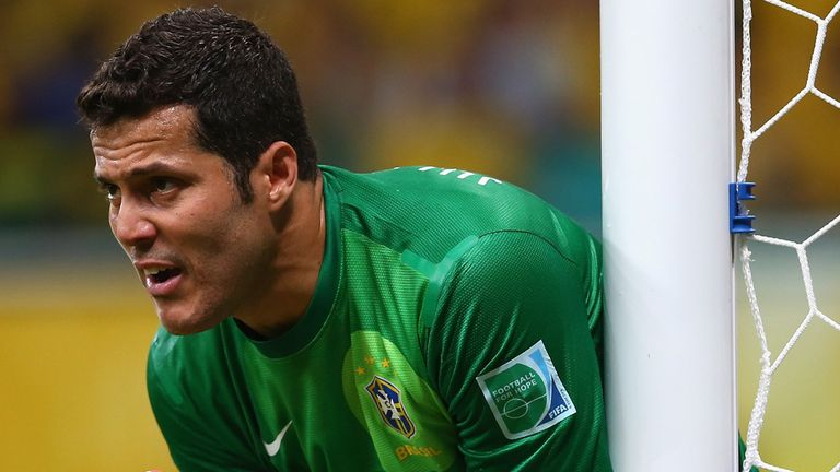 Julio Cesar: Enjoying life in London
