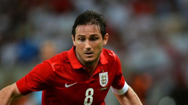 Frank Lampard: Impressed by England's draw with Brazil
