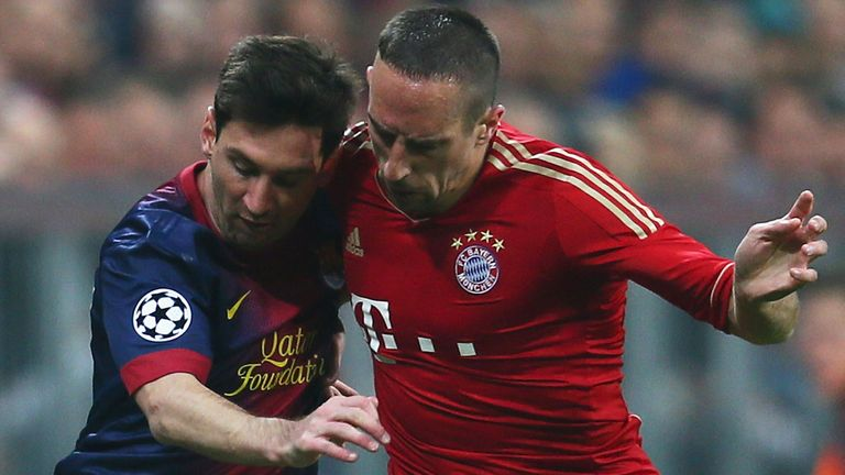 Lionel Messi & Franck Ribery: Named in Bloomberg List's top three players