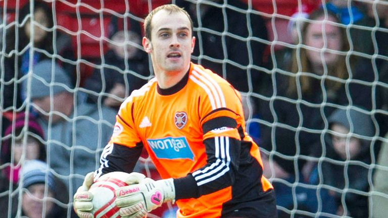 Jamie MacDonald: Produced some crucial saves for Hearts