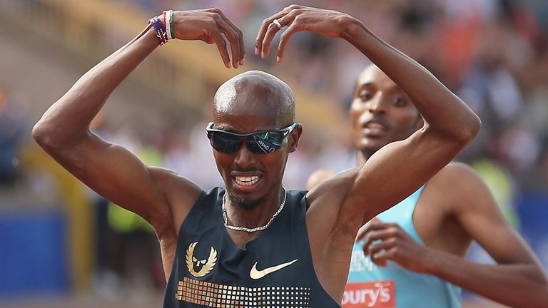 Mo Farah: Chilling warning to his rivals