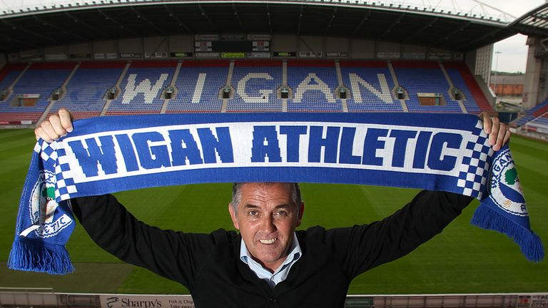 Owen Coyle: Replaces Roberto Martinez at the DW Stadium