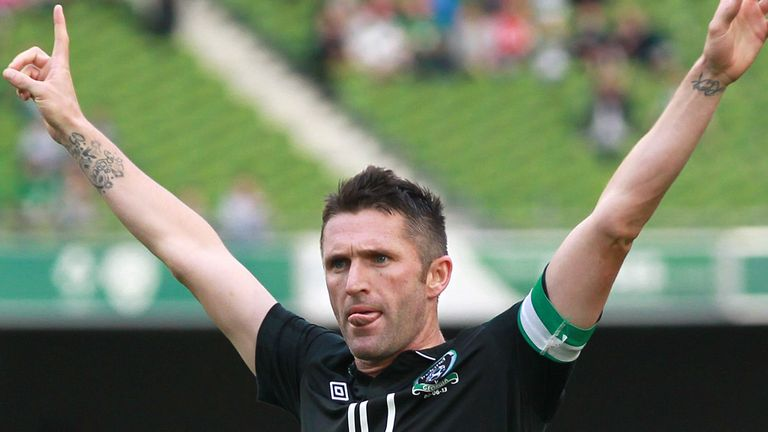 Robbie Keane: Republic of Ireland captain will win his 126th cap against the Faroe Islands