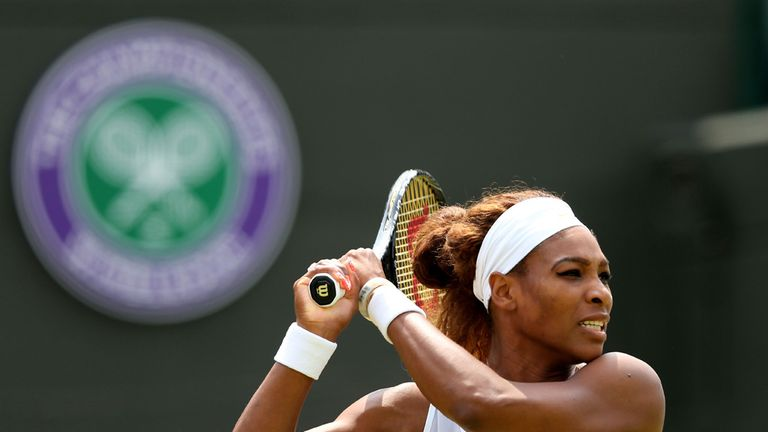 Serena Wiliams: Accepted Murray's challenge of a match in Las Vegas