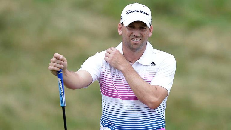 Sergio Garcia: Played the 14th and 15th in 16 over par
