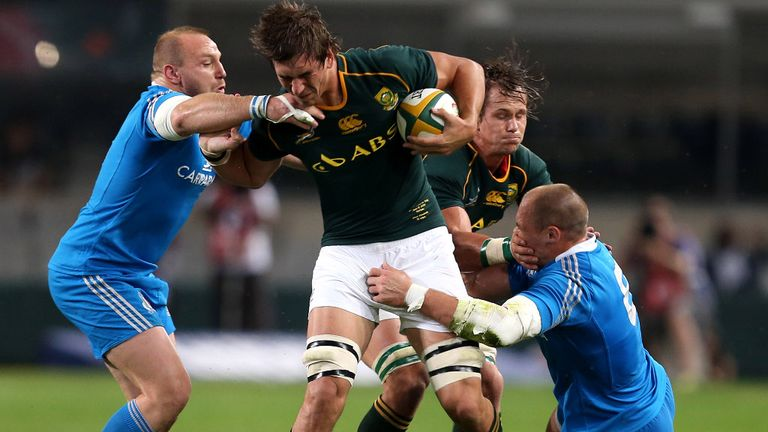Eben Etzebeth: Powerful lock ruled out of summer series