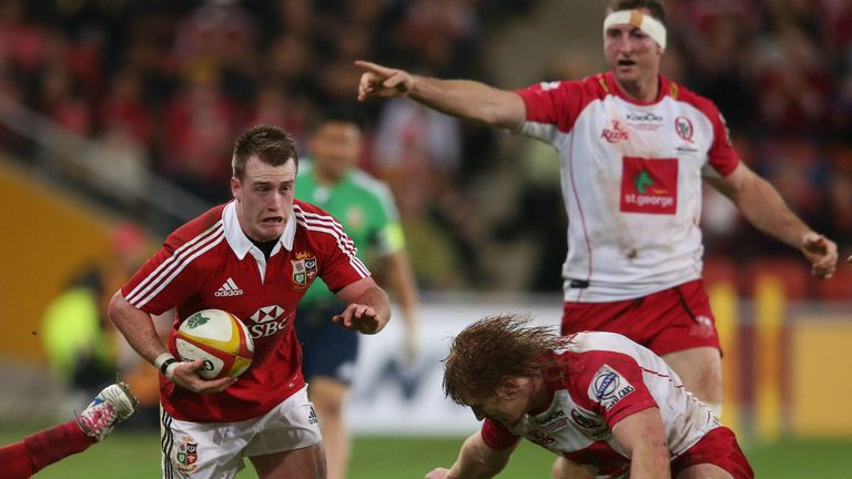Stuart Hogg: Starts at No 10 for Lions
