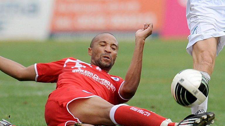 Thierry Audel: Trialling at Plainmoor
