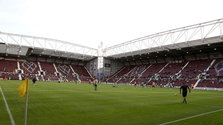 Staff at Tynecastle are meeting with administrators of Hearts
