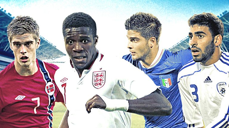 England face Norway, Italy and hosts Israel in Group A of the European Under-21 Championship